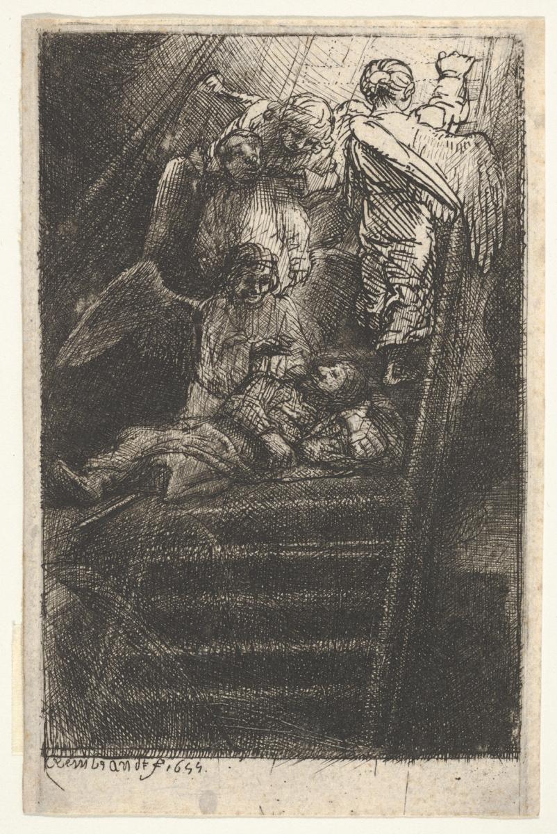 Рембрандт Харменс ван Рейн. Лестница Иакова