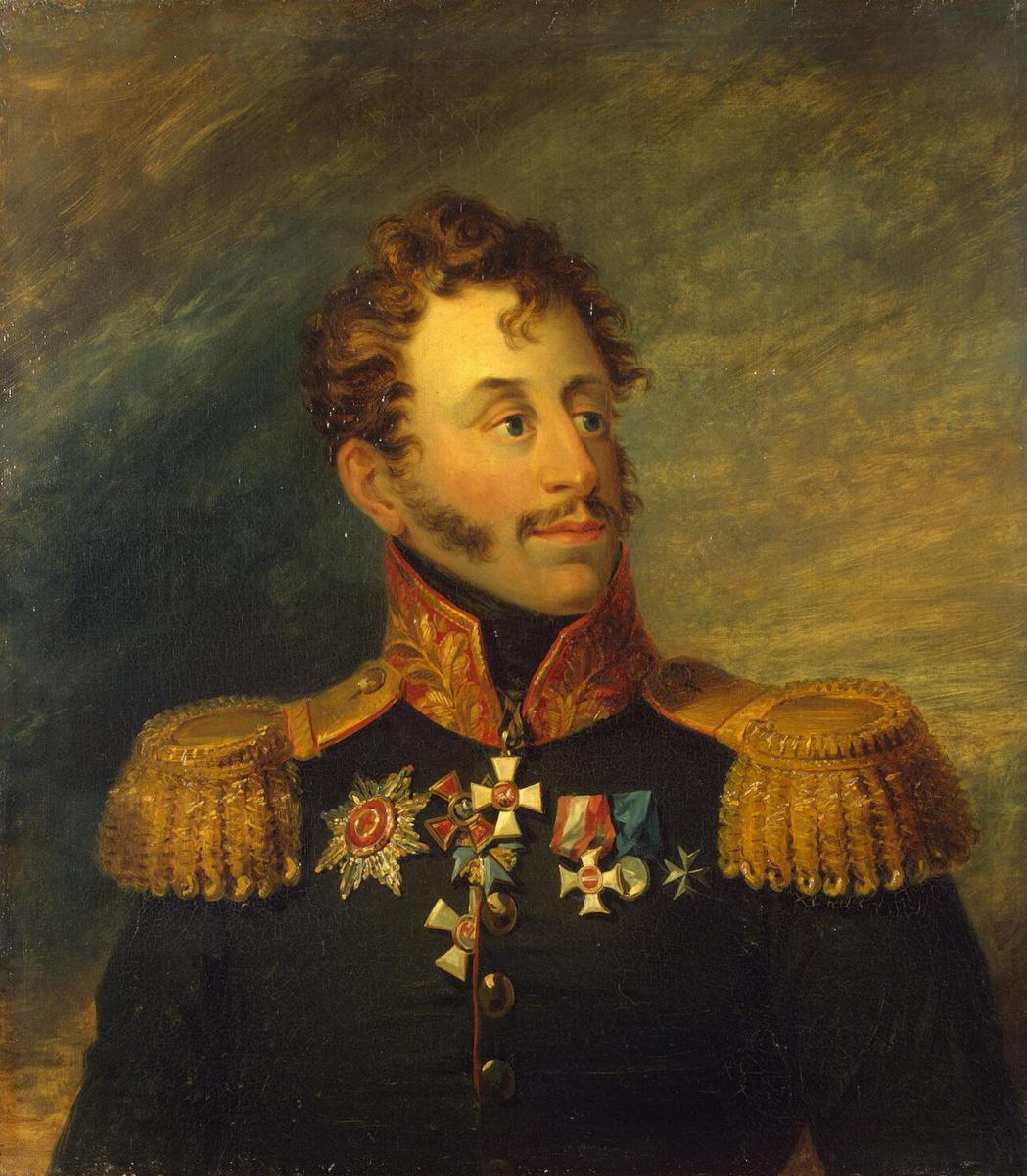 George Dow. Portrait of Karl Bogdanovich von Knorring