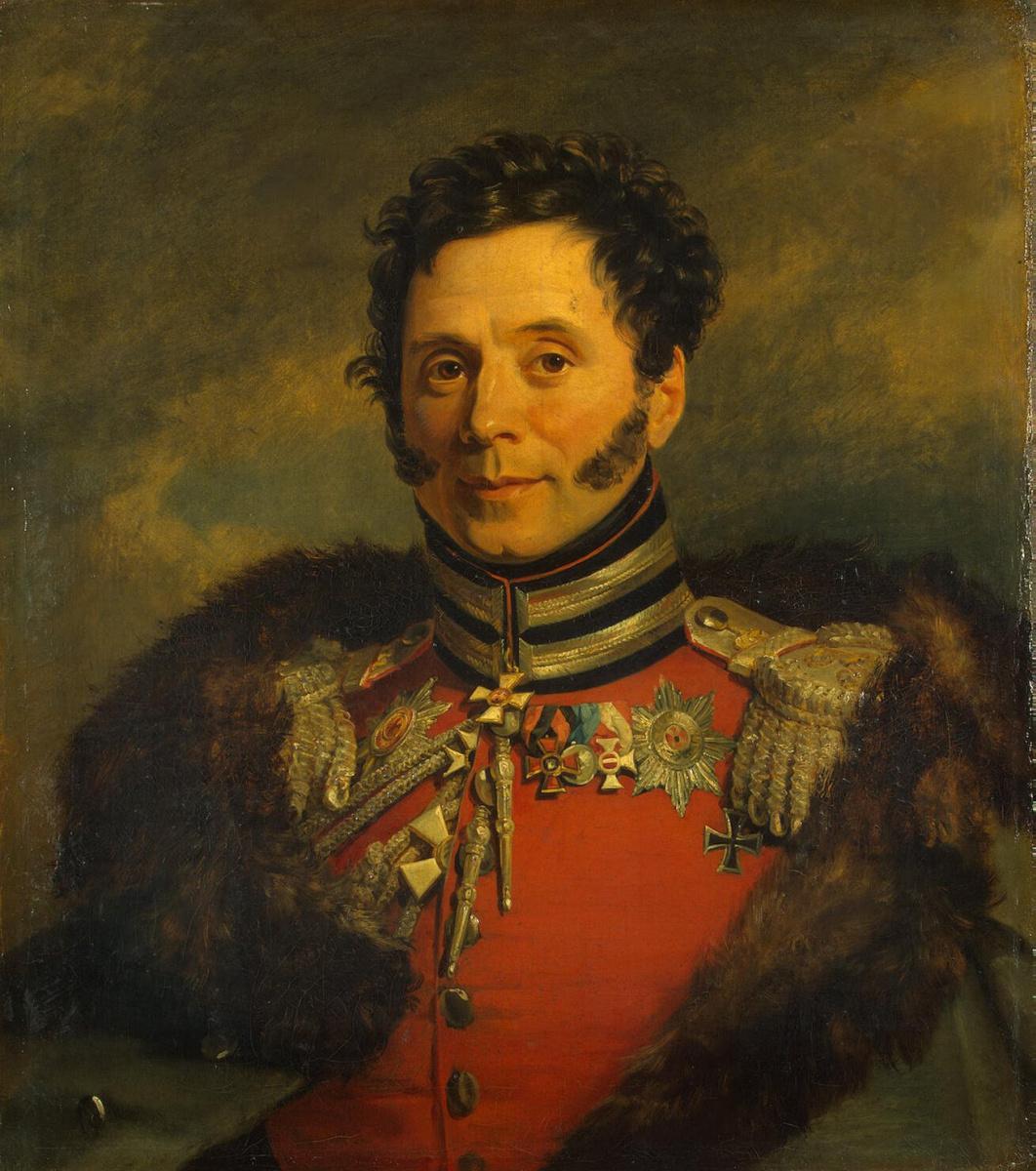 George Dow. Portrait of Nikolai Ivanovich Depreradovich
