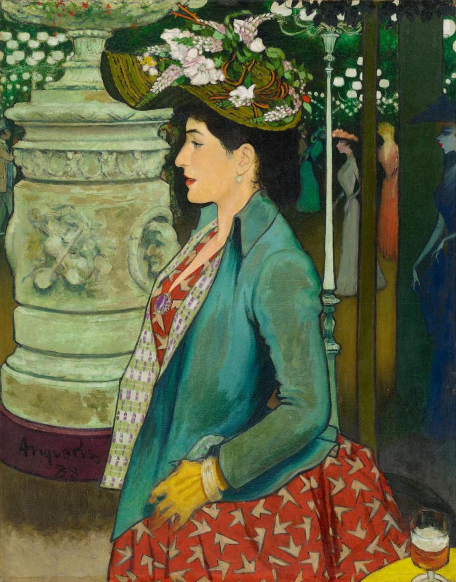 Луи Анкетен. Элегантный профиль на бале Мабиль. 1888