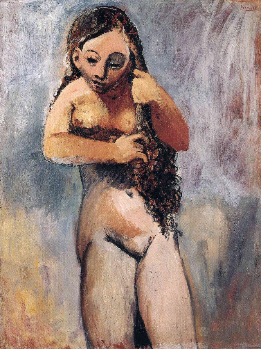Пабло Пикассо. Туалет 5