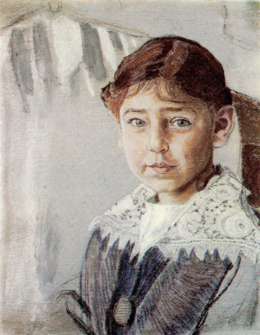 Alexander Yakovlevich Golovin. Portrait Of Olga Rybakova