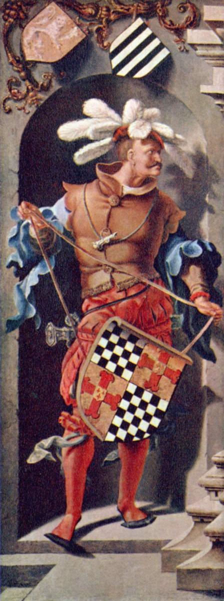 Лукас ван Лейден (Лука Лейденский). Портрет Якоба Флориса ван Монфора