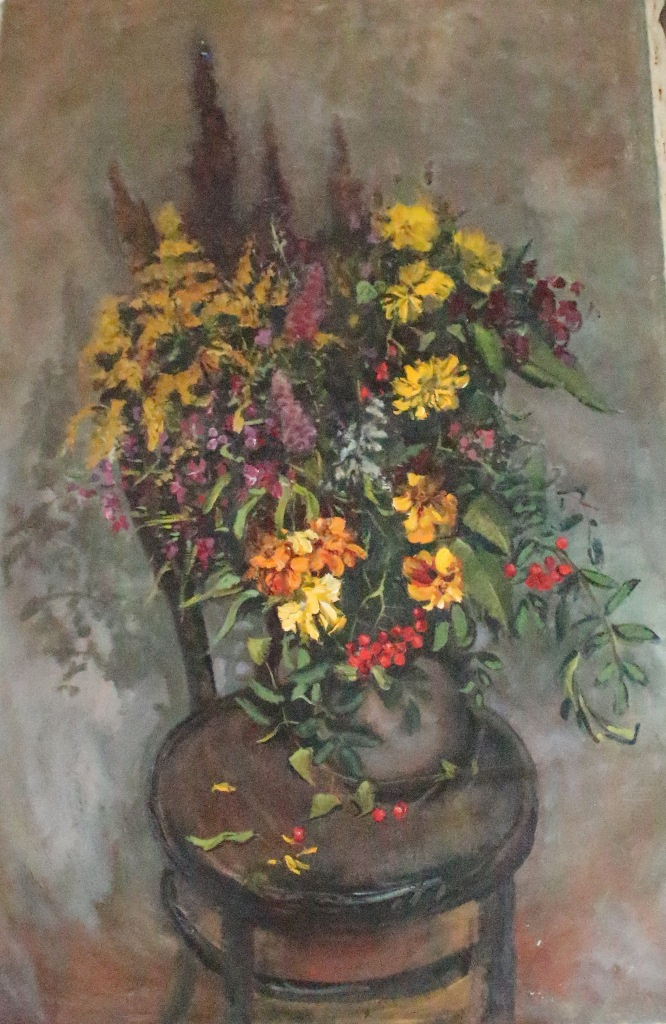 "Сергей Григорьевич Коваль. ""Flowers"" by H. M."