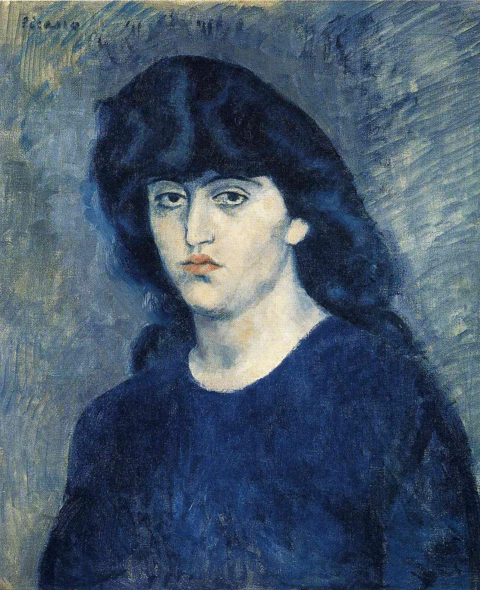 Пабло Пикассо. Портрет Сюзанны Блох