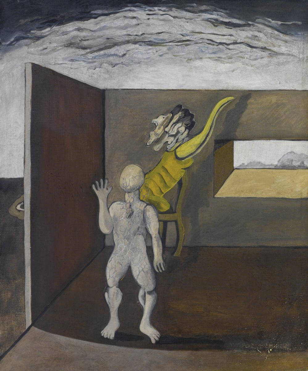 Victor Browner. Surreal composition