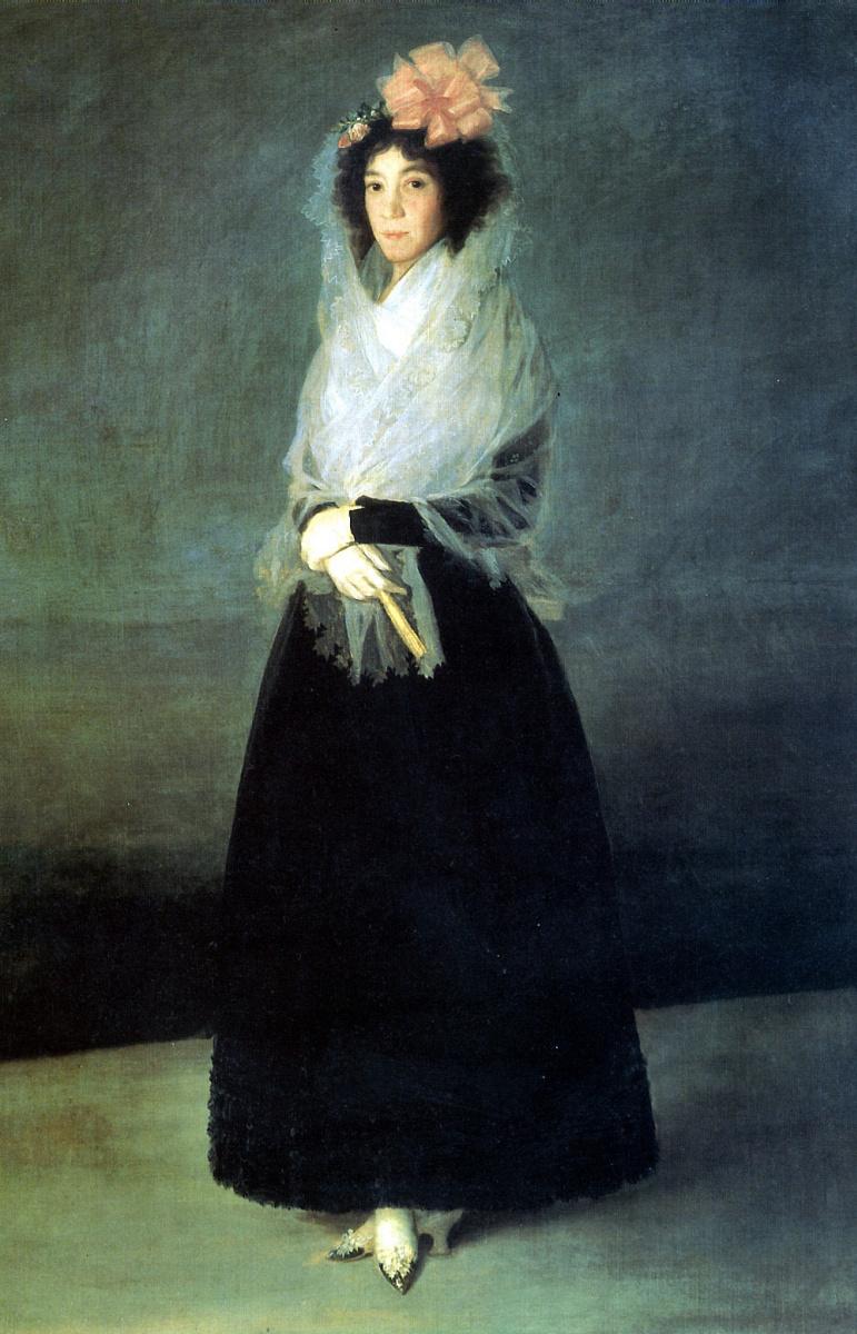 Франсиско Гойя. Графиня Карпио, маркиза де ла Солана