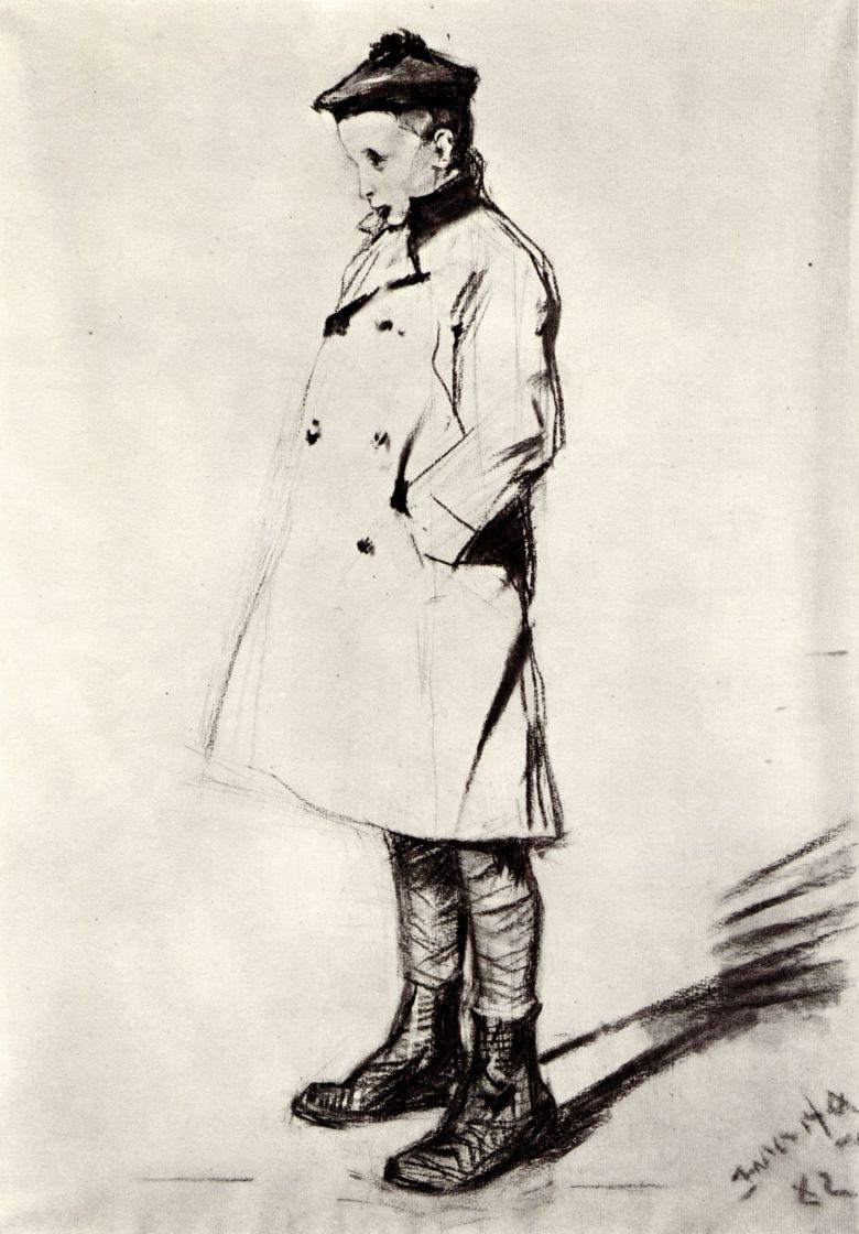 Анри де Тулуз-Лотрек. Одон Тапье де Селейран в возрасте десяти лет