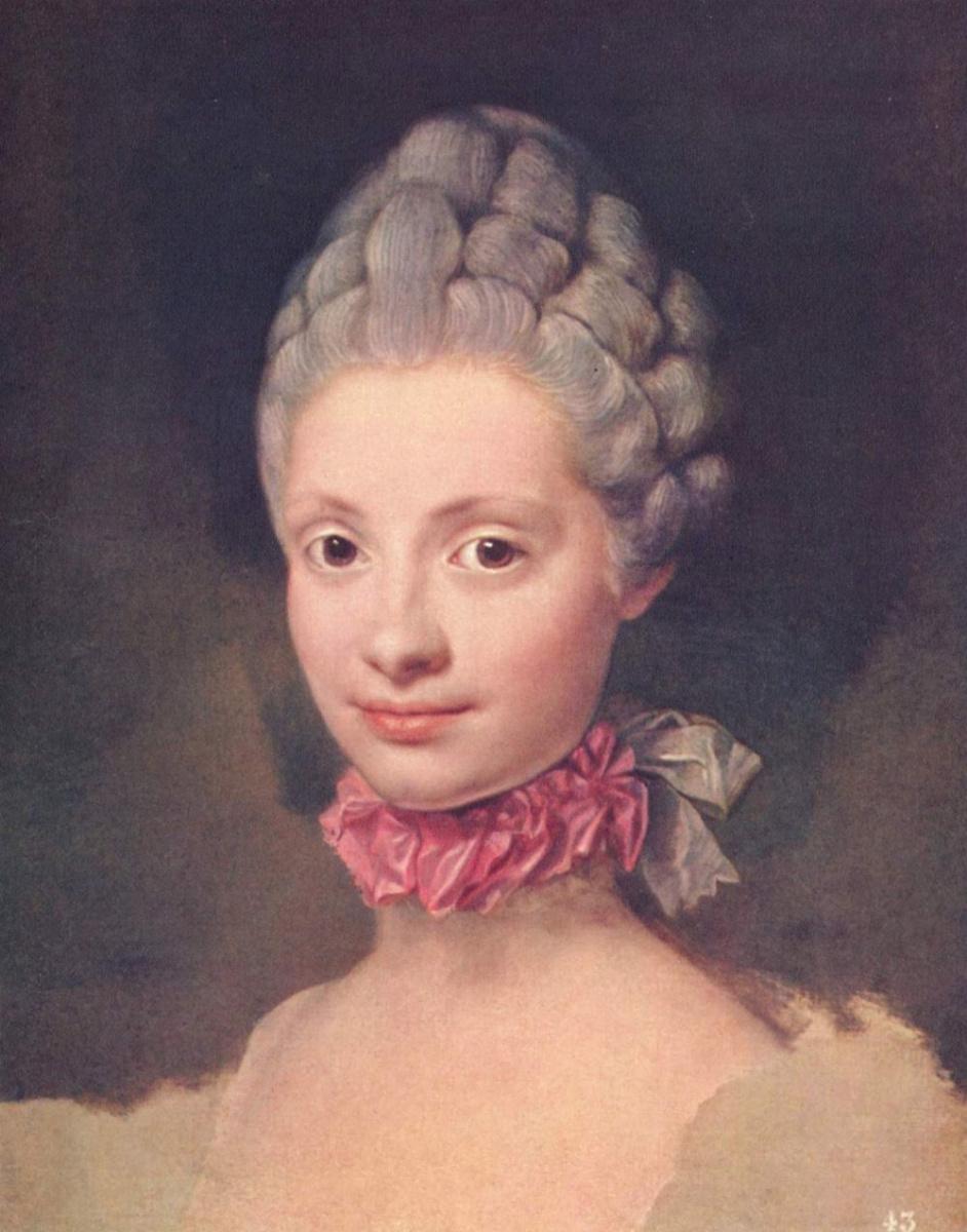 Антон Рафаэль Менгс. Мария Луиза Пармская, принцесса Астурийская