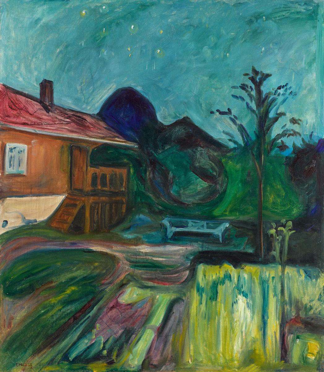 Edvard Munch. Summer Night