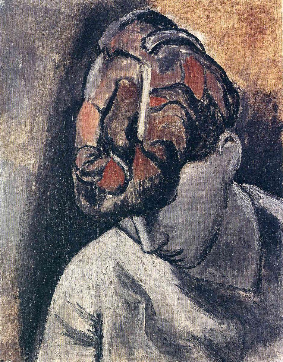 Пабло Пикассо. Женщина со склоненной головой
