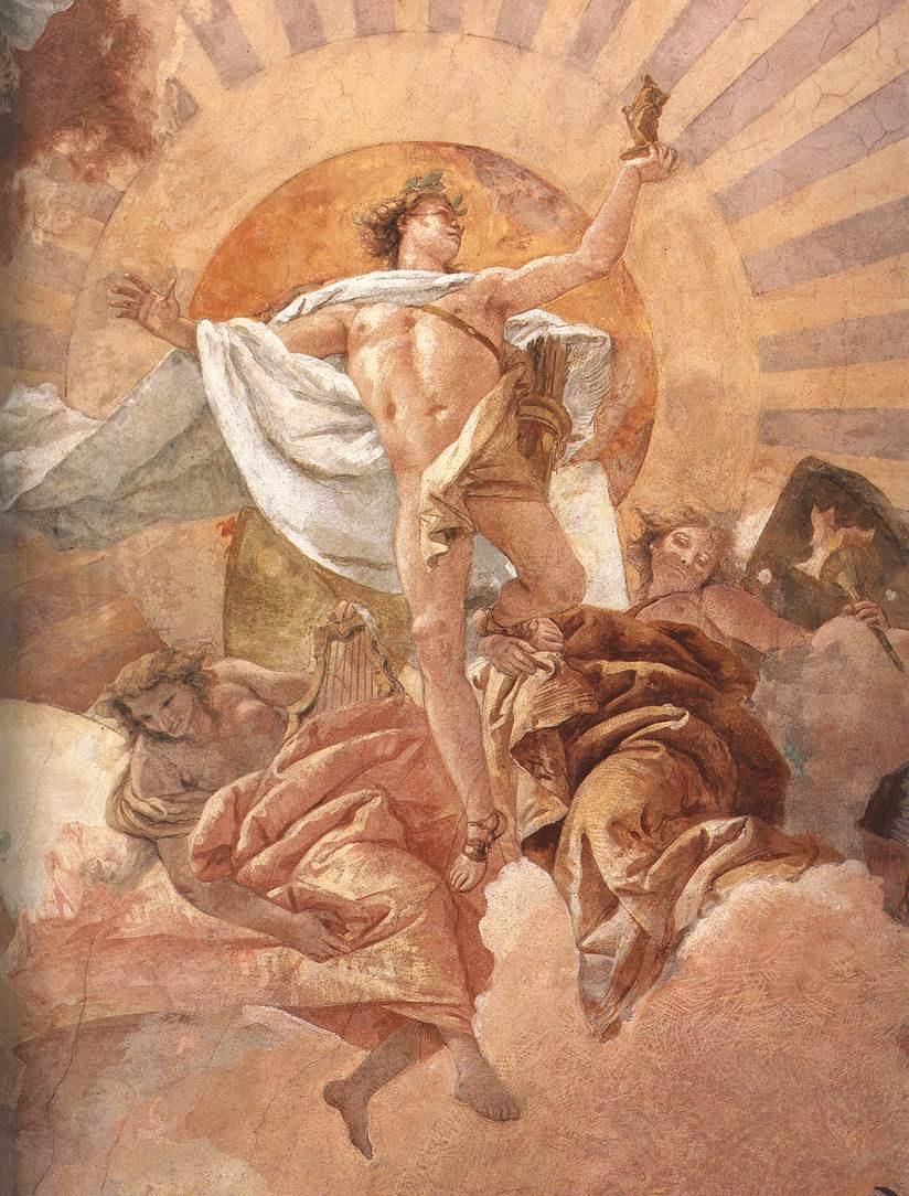 Джованни Баттиста Тьеполо. Аполлон и Континенты (фрагмент)