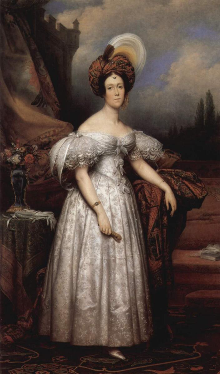 Карл фон Штойбен. Портрет маркизы Бетизи в восточной одежде
