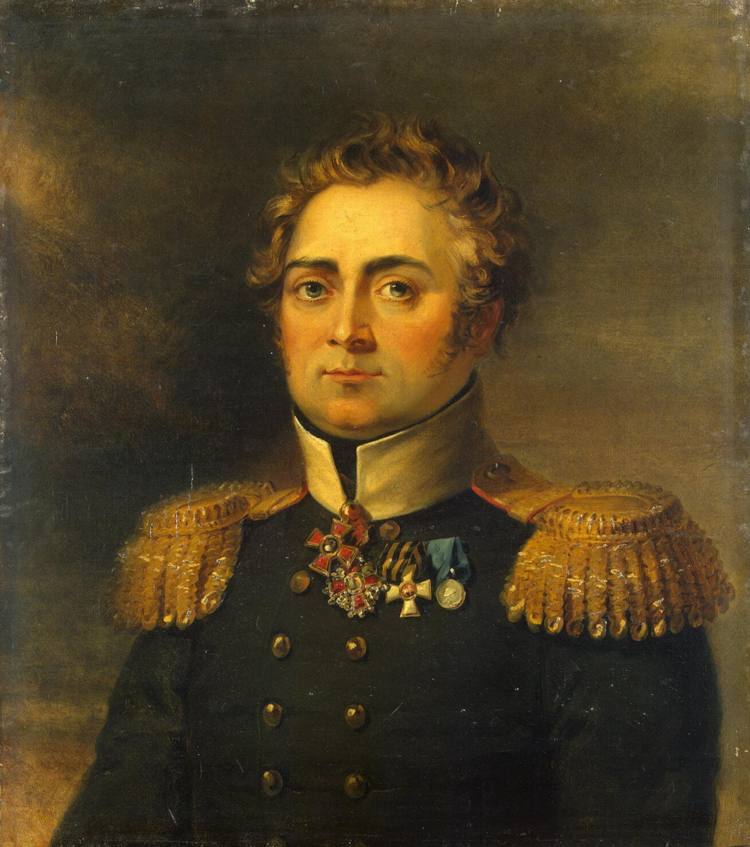 George Dow. Portrait Of Anton Antonovich Of Salona