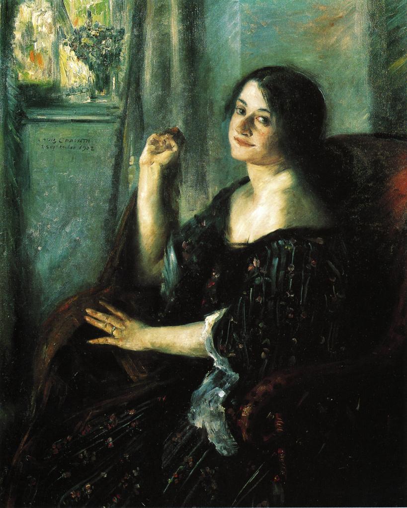 Lovis Corinth. Portrait Of Charlotte Berend