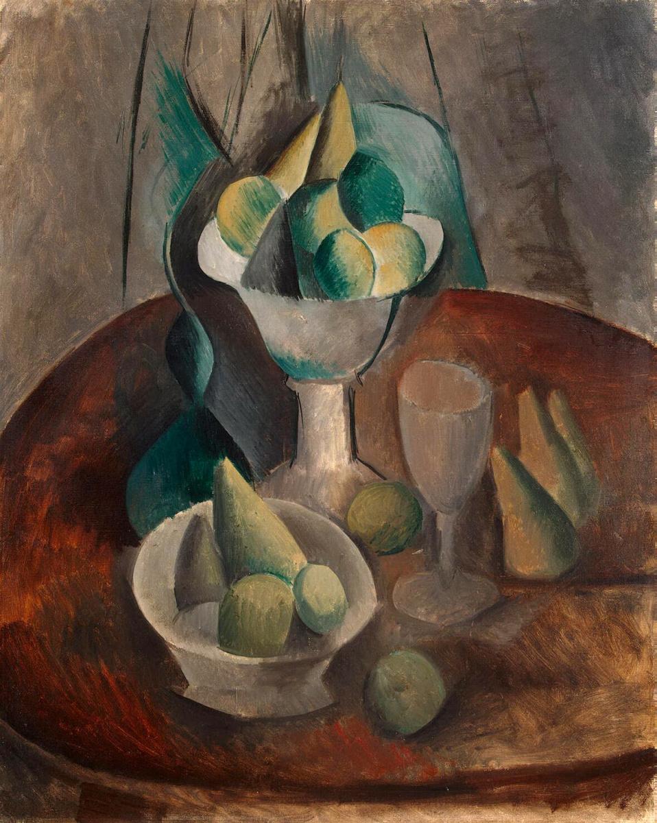 Пабло Пикассо. Ваза с фруктами
