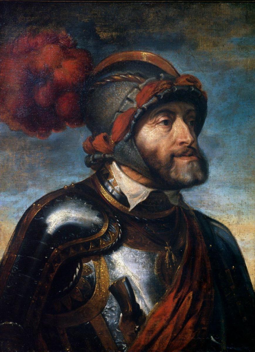 Питер Пауль Рубенс. Портрет императора Карла V