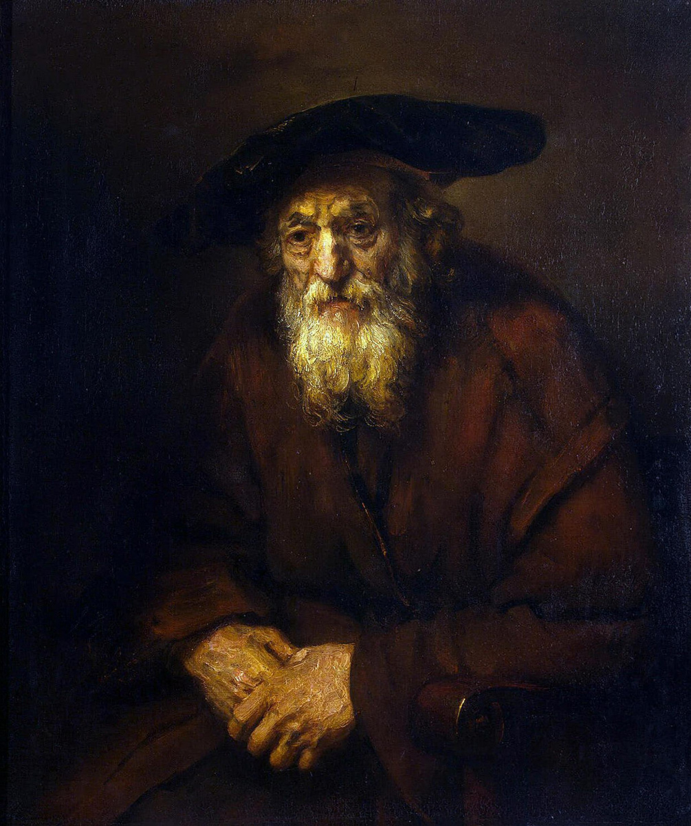 Rembrandt Harmenszoon van Rijn. Portrait of an old Jew