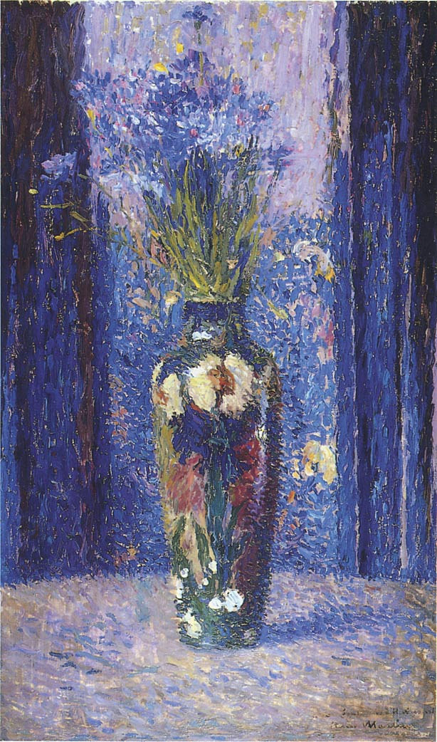 Henri Martin. Vase with flowers