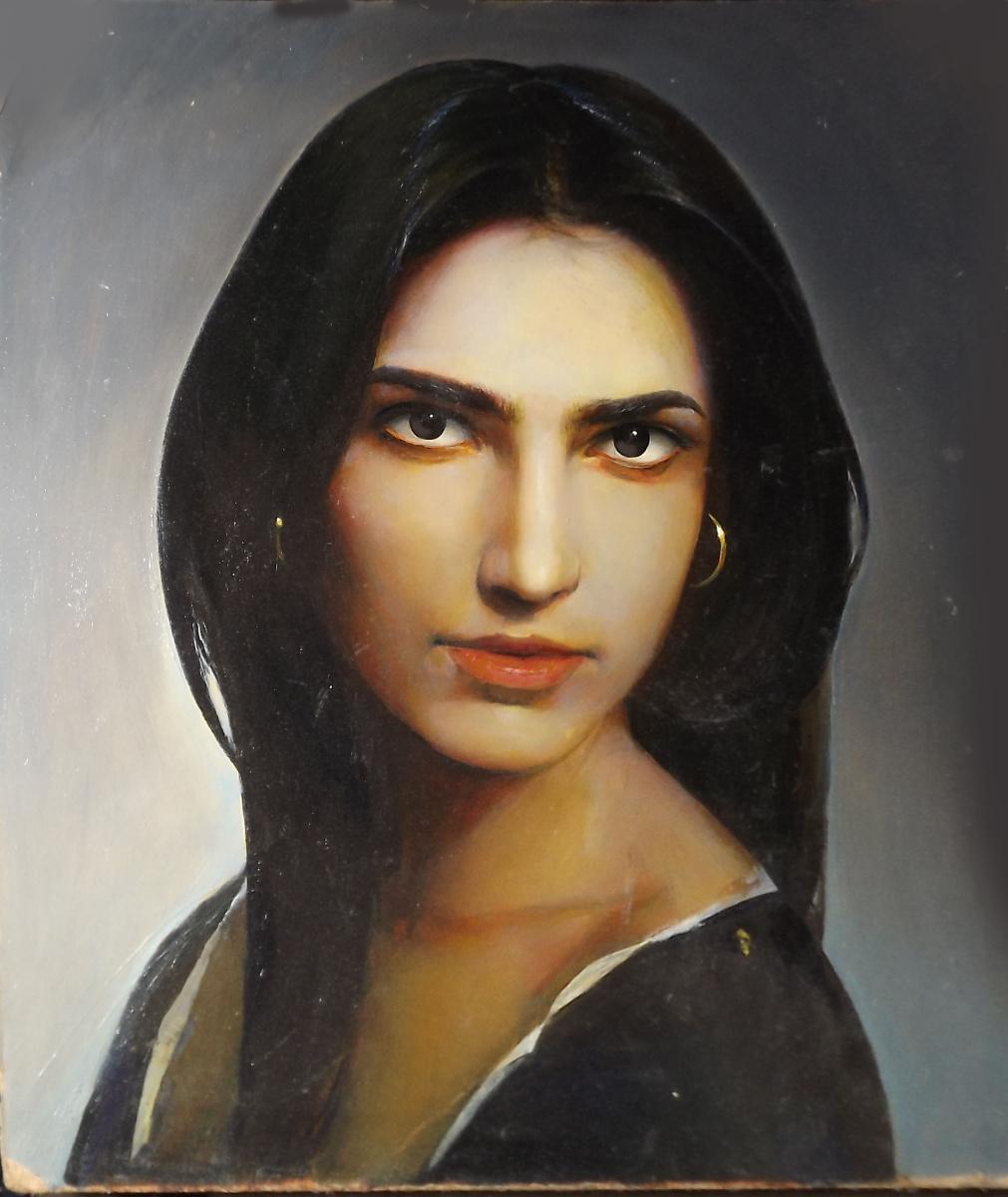 Sergei Hinz. Turkish woman