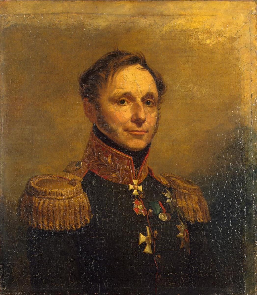 George Dow. Portrait Of Pyotr K. Essen