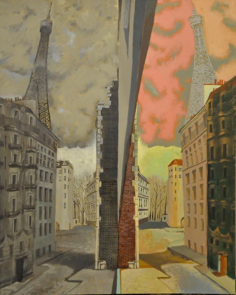 Dmitry Vasilievich Grachev. Paris. Reality versus Imagination.