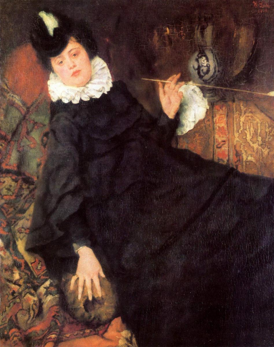 Вильгельм Мария Хубертус Лайбль. Юная парижанка