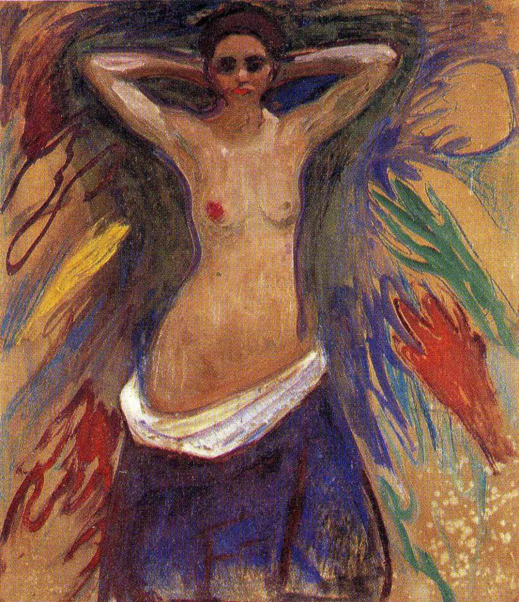 Edvard Munch. Hands