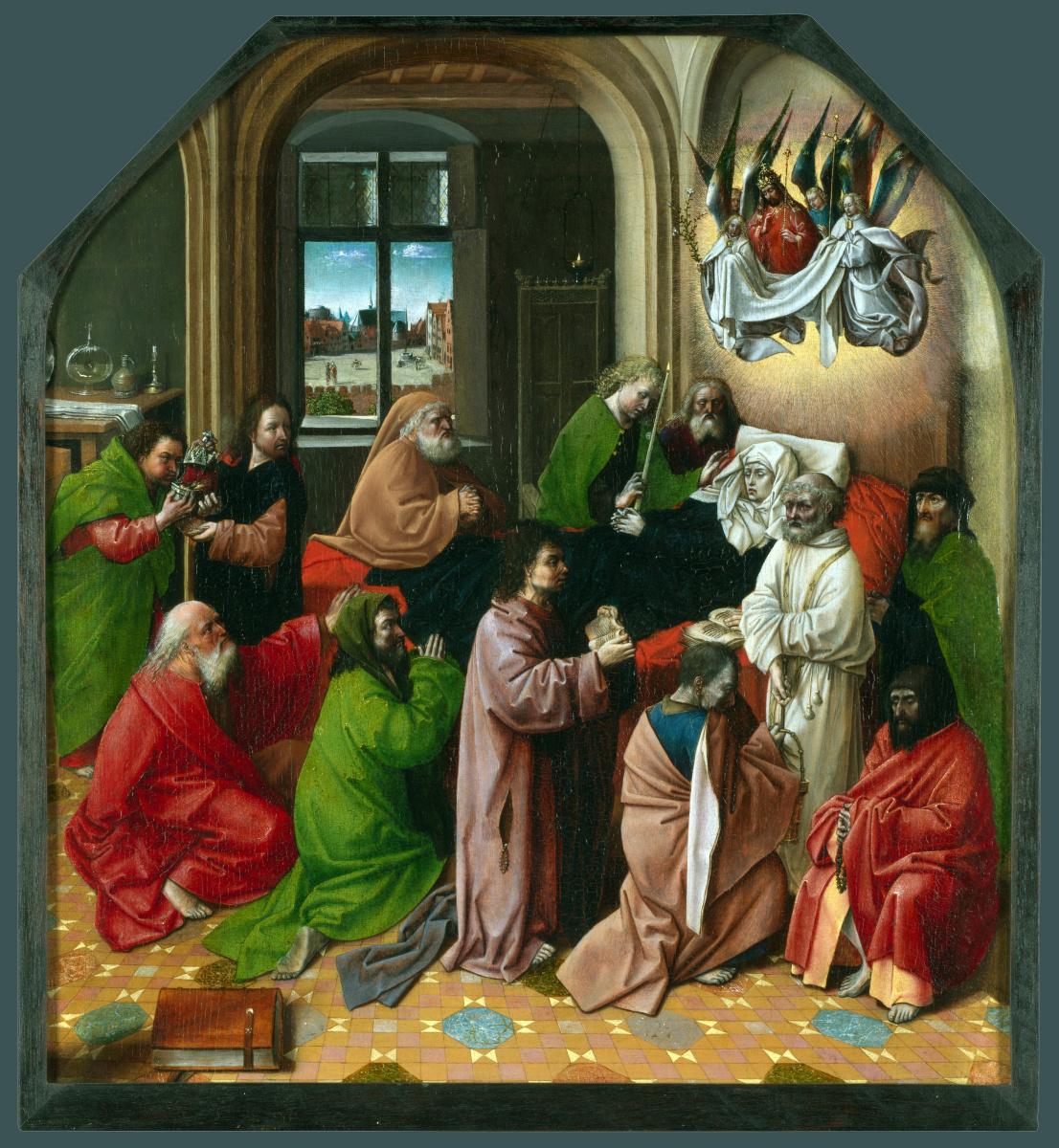 Дер Гуго ван Гоес После. Смерть Богородицы