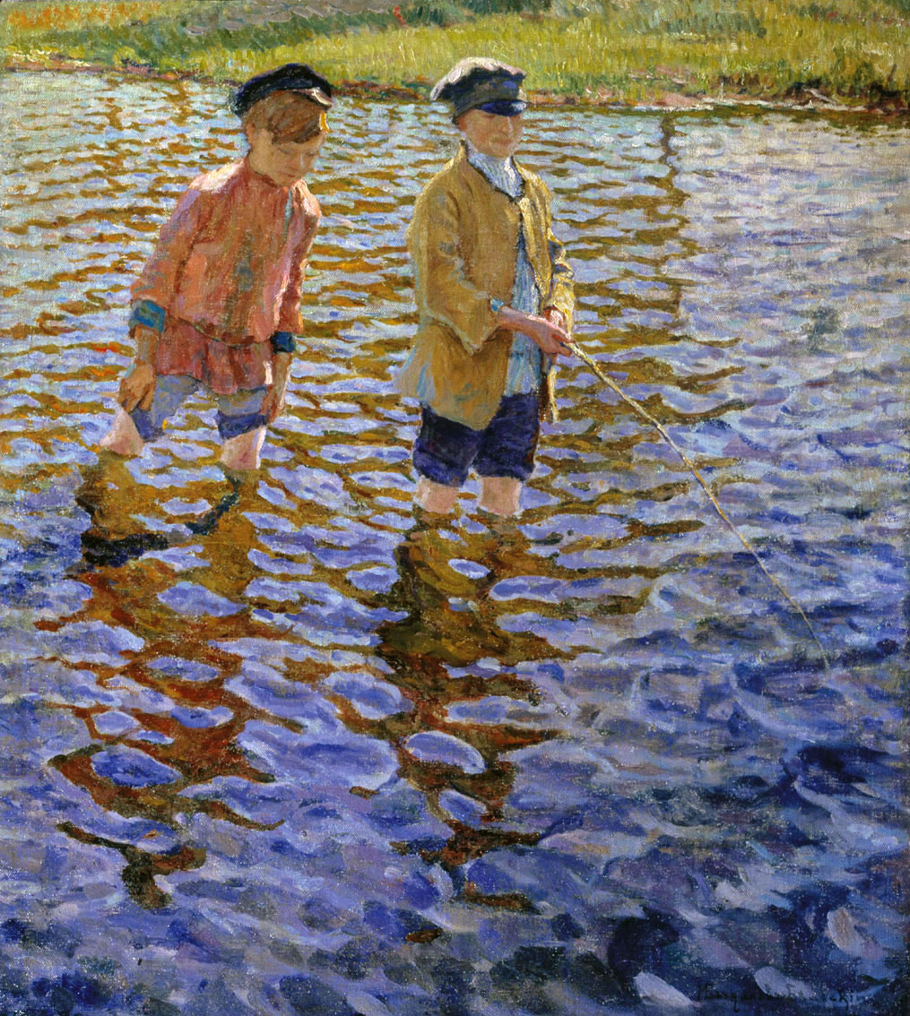 Nikolay Petrovich Bogdanov-Belsky. The boys