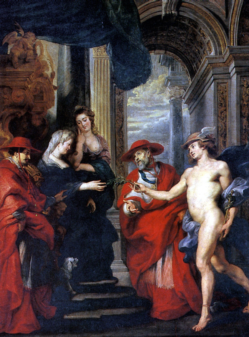 Peter Paul Rubens. The Treaty of Angouleme