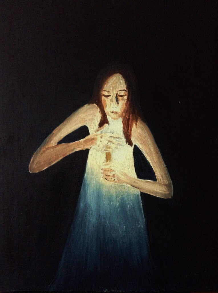 Ксения Жулёва. Иллюстрация к музыке из спектакля Ю.Бутусова «король Лир»