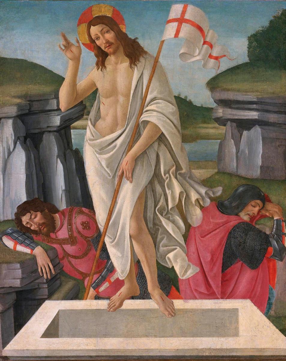 Сандро Боттичелли. Воскресение Иисуса Христа