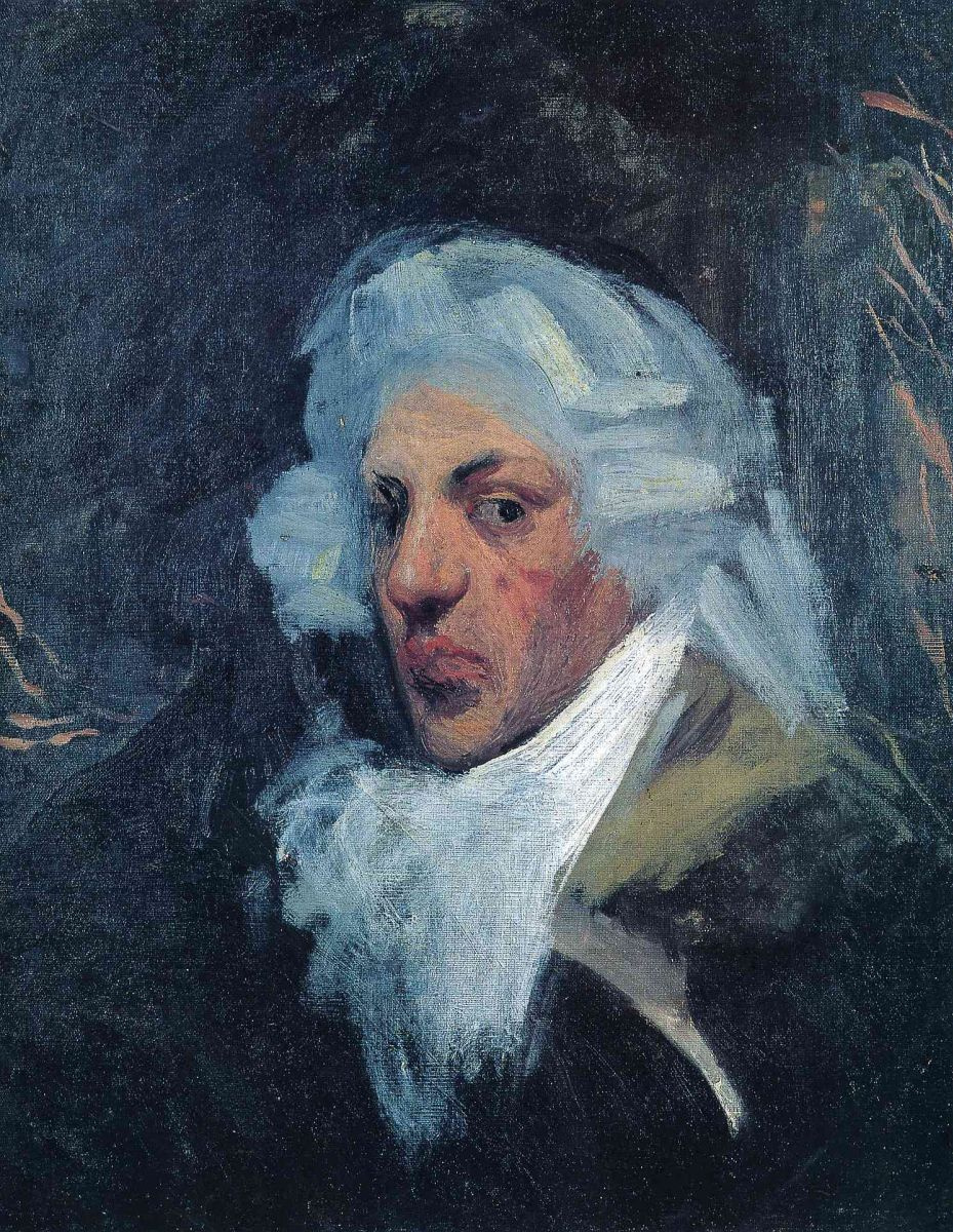 Пабло Пикассо. Автопортрет в парике