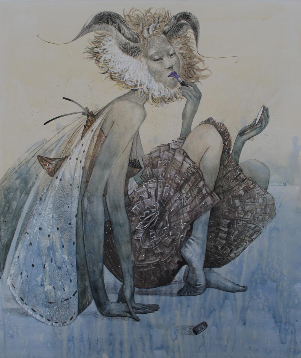 "Elizabeth Alekseevna Nadezhdina. ""Moth"""
