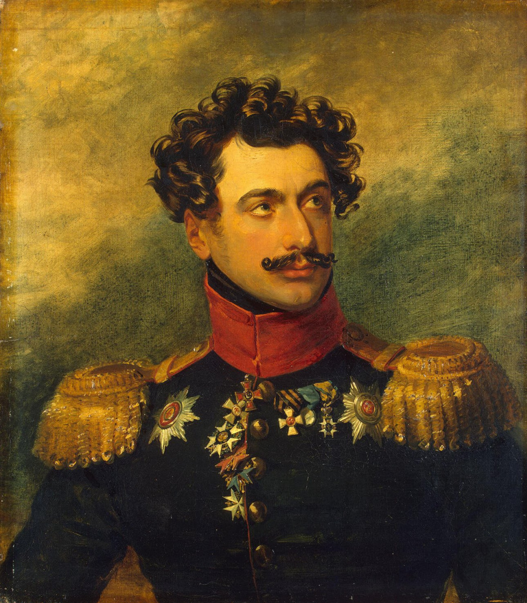 Джордж Доу. Портрет Льва Александровича Нарышкина