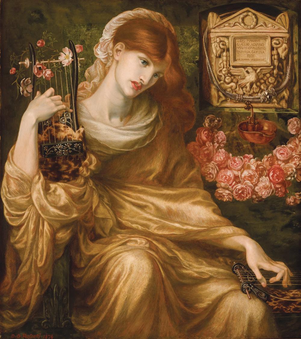 Данте Габриэль Россетти. Римская вдова