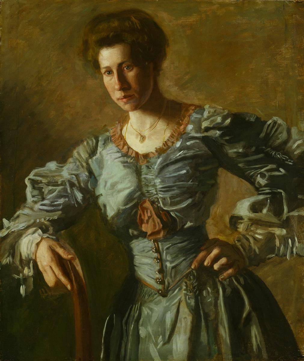 Thomas Eakins. Portrait Of Elizabeth L. Burton