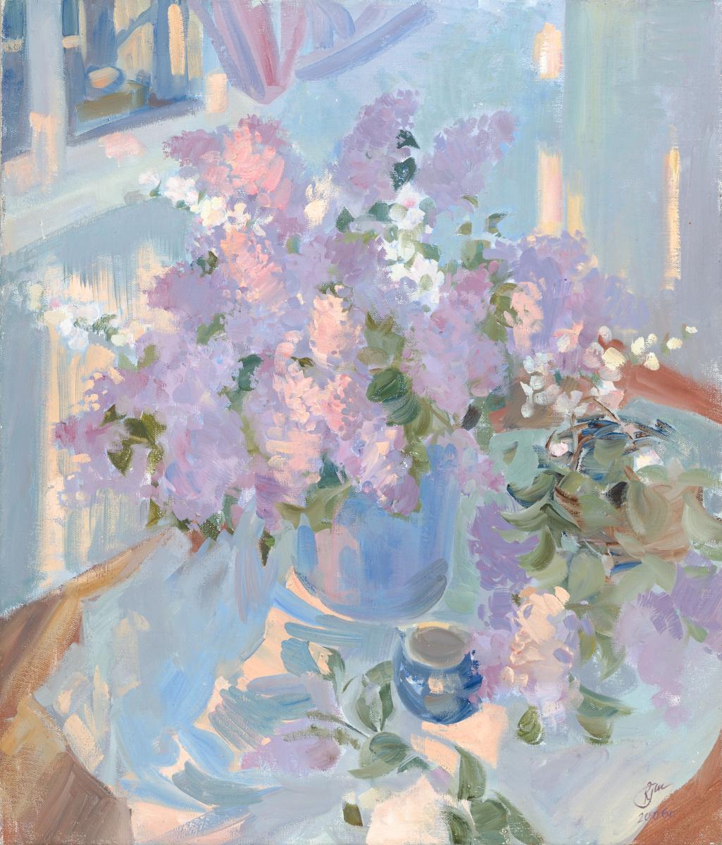 Irina Melikhova. Lilac