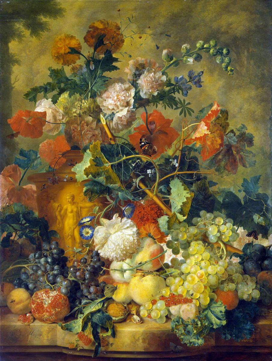 Ян ван Хейсум. Цветы и плоды