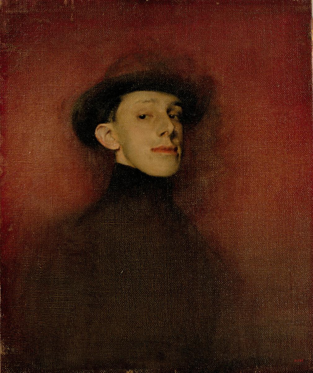Ramon Casas i Carbó. Portrait of King Alfonso XIII. Etude