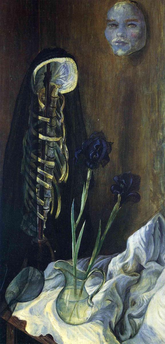 Отто Дикс. Натюрморт с вуалью вдовы