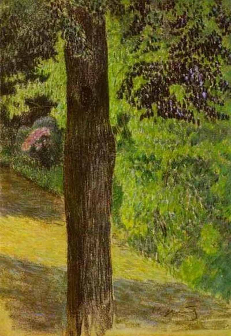 Victor Elpidiforovich Borisov-Musatov. Path in the garden