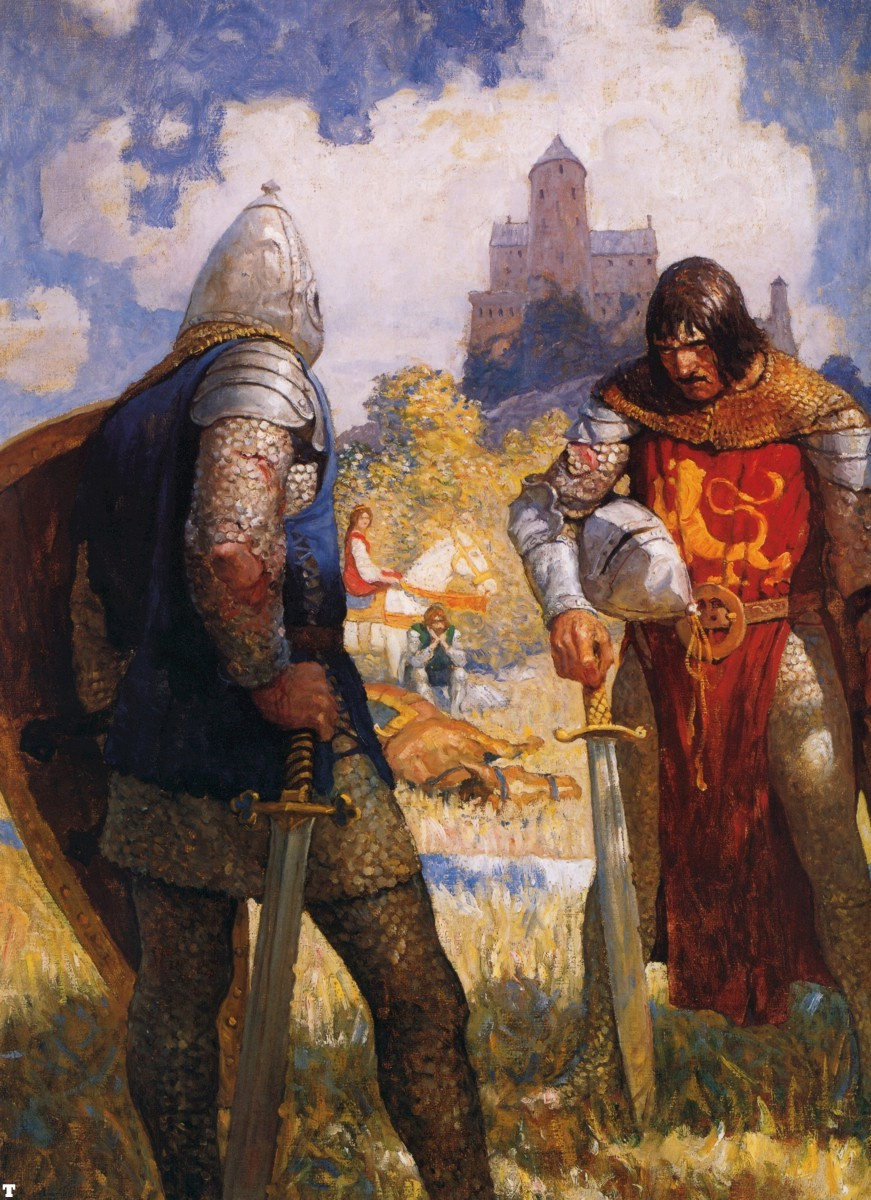 an analysis of lancelots character in the story of the knight in the cart Arthurian romances summary & study guide includes detailed chapter summaries and analysis, quotes, character descriptions  the knight of the cart (lancelot).