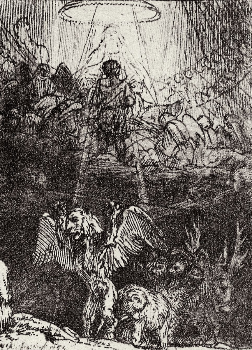 Рембрандт Харменс ван Рейн. Видение Даниила