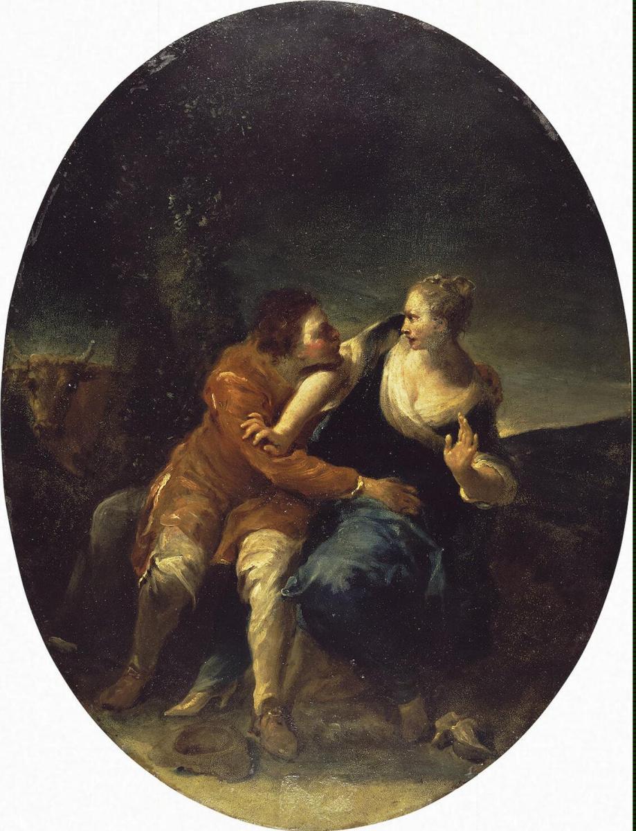 Джузеппе Мариа Креспи. Настойчивый кавалер