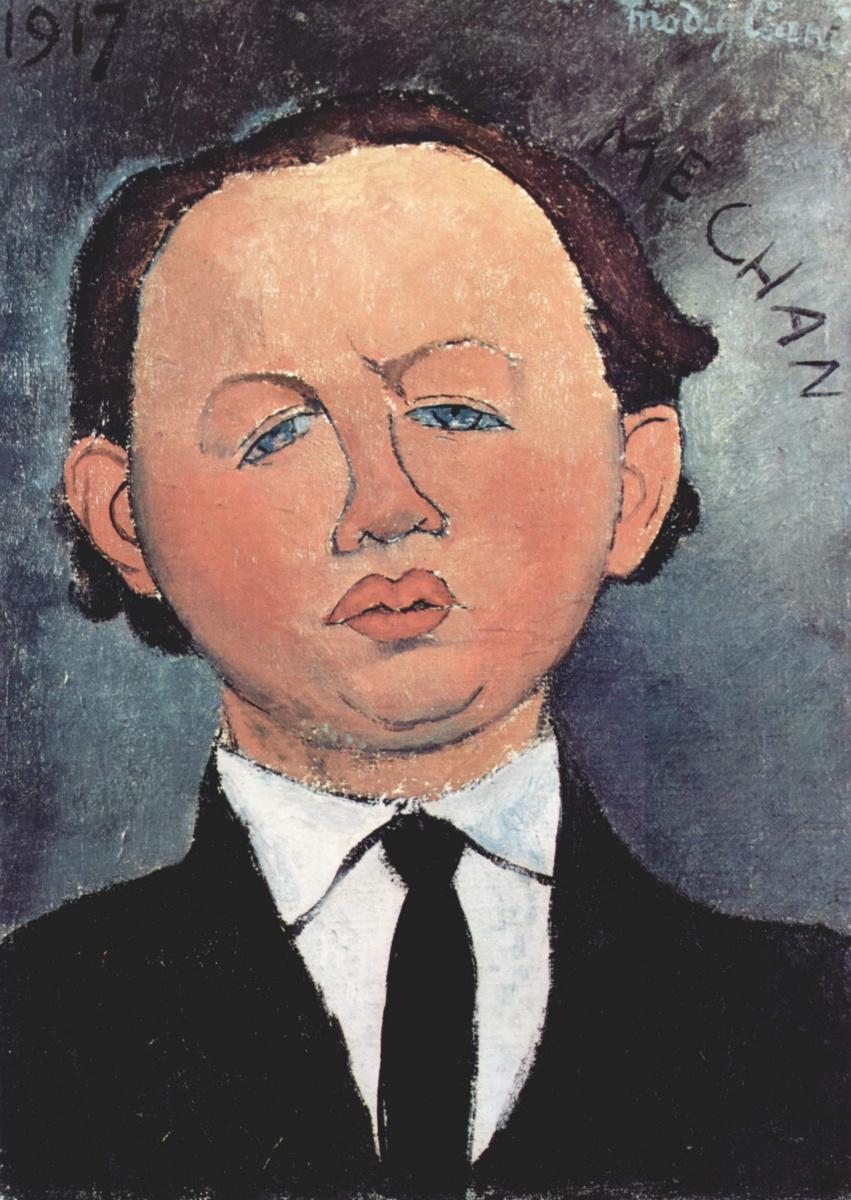 Амедео Модильяни. Портрет Мешана