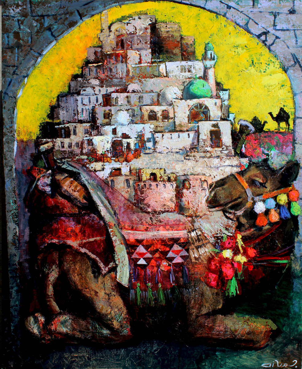 Cavid baku mammadov. The time caravan(caravan of time)