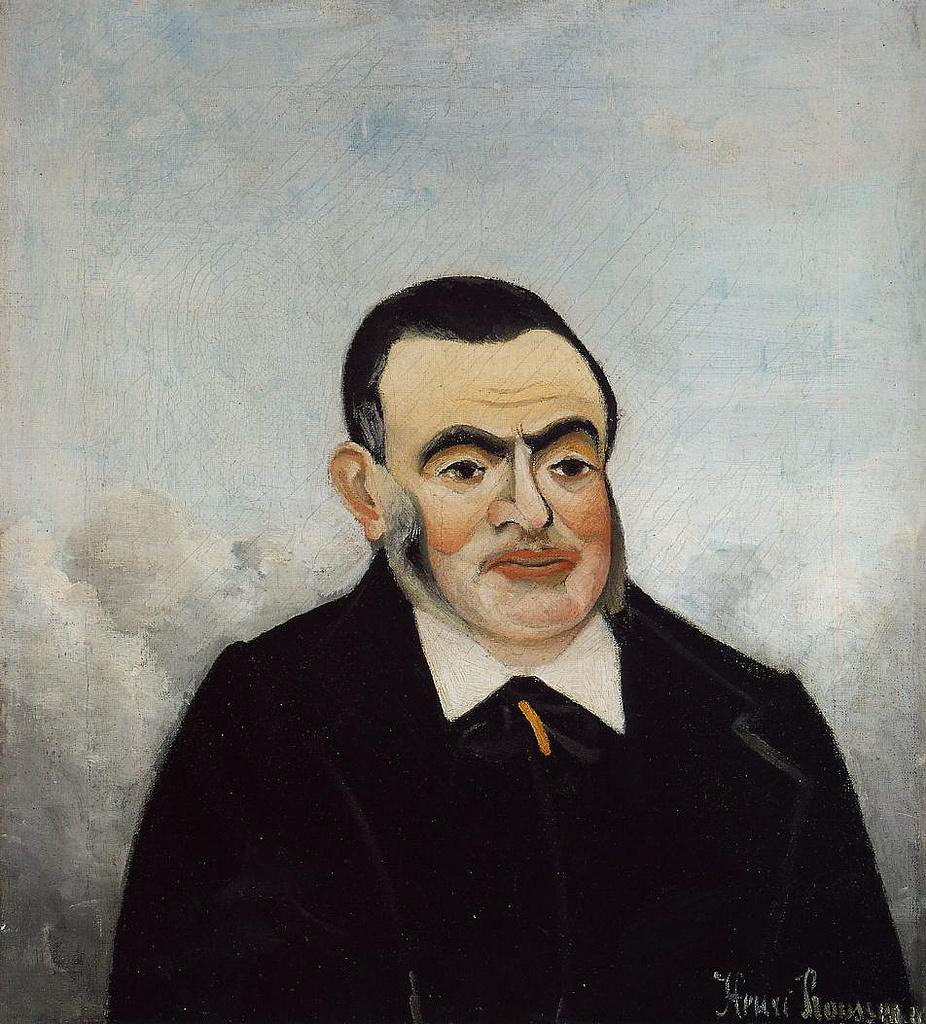 Анри Руссо. Портрет мужчины