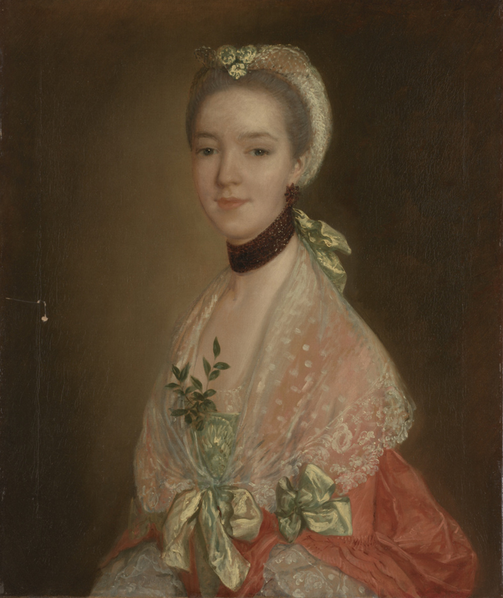 Thomas Gainsborough. Portrait of a young woman
